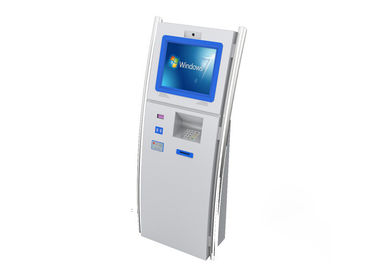 Customized Ticket Digital Kiosk Touch Screen Cold Rolled Steel Material TSK8011